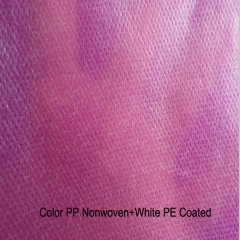 PP+PE nonwoven fabric for bedsheet