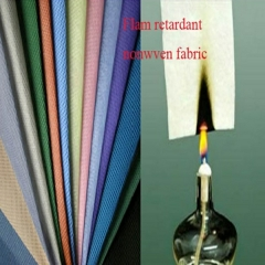 fire proof nonwoven fabric