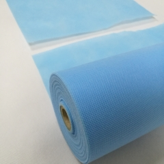nonwoven fabric roll for medical disposable bedsheet