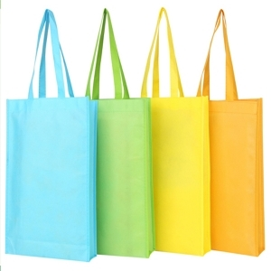 custom logo good reliability recyclable nonwoven fabric bag