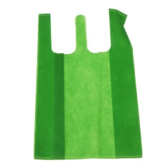 Colorful nonwovenT-shirt shopping bag
