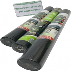 Black color PP nonwoven fabric for agriculture weed control