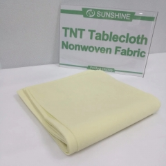 High quality oilproof pp nonwoven fabric for table cloth