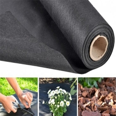 new product Black /white color PP non-woven fabric for agriculture weed control