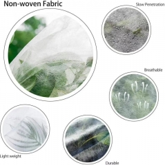 2020 product Black /white color PP non-woven fabric for agriculture weed control